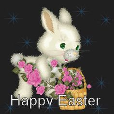EASTER CARDS GIF | ... this Easter with cute Easter eggs or Easter bunny greeting cards