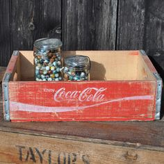 Vintage Coca Cola Crate now featured on Fab.