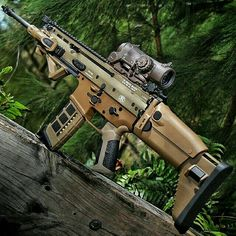 FN Scar 16 with Elcan Spectre DR