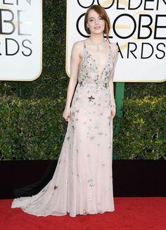 Golden Globes 2017 : tous les looks du tapis rouge   Glamour