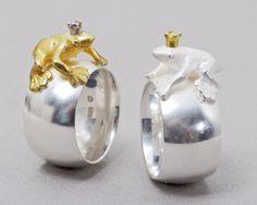 GITTA PIELKE-DE FROG KING RINGS SEE http://www.artaurea.com/jewelries/48-gitta-pielcke