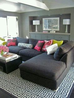 Lovely sectional