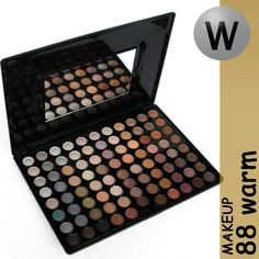 Pallete of 88 natural colors, with a mirror. The natural colors from the pallete are best for daily make-up, and for very soft shades. This Pallete is perfect for the working woman, and for those young girls who wants to wear very light and delicate make-up. Promotional price €18.92
