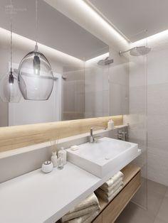 little-bad-set-mirror cabinet-indirect-lighting-wood-accents-glass-tr .:separator:little-bad-set-mirror cabinet-indirect-lighting-wood-accents-glass-tr . Shower Storage, Shower Shelves, Bathroom Storage, Small Bathroom Paint, Family Bathroom, Mirror Cabinets, Wooden Cabinets, Bad Wand, Cute Shower Curtains