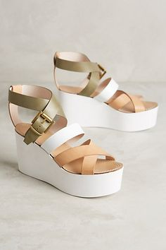 Alba Moda Bellavista Wedges  anthropologie Strappy Sandals, Shoes Sandals,  Shoe Boots, Flats 04ee87c91a
