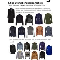 Kibbe Драматический Classic: Куртки