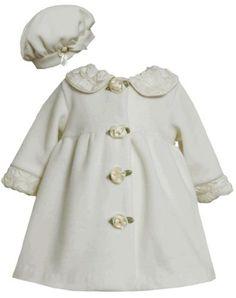 Little Girls Adorable Cute Satin Long Sleeve Bolero Jacket Winter Shoulder Cover