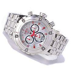 Invicta Reserve 52mm Specialty Subaqua Swiss Made Quartz Chronograph High Polish Bracelet Watch