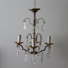 French chic chandelier Paris apartment Romantic lighting Bathroom light Bedroom ceiling light Small chandelier Bronze cut glass pendants - ALL ABOUT Bathroom Chandelier, French Chandelier, Art Deco Chandelier, Bronze Chandelier, Antique Chandelier, Ceiling Chandelier, Bedroom Ceiling, Light Bedroom, Bedroom Lighting