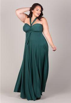 Plus Size Eternity Convertible Maxi Dress