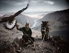 Photo by © Jimmy Nelson KAZAKH The Kazakhs are the descendants of Turkic, Mongolic and Indo-Iranian tribes and Huns that populated the territory between Siberia and the Black Sea. They are a semi-nomadic people and have roamed the mountains and valleys of western Mongolia with their herds since the 19th century. http://www.jimmynelson.com/