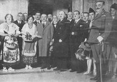 Visor Archivo General Región de Murcia. FOT_DIG-0000256 / 'Ministro de Fomento en su llegada para inaugurar la Confederación Hidrográfica delSegura...31/12/1927