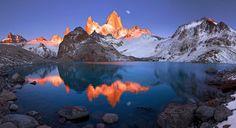 Laguna de los Tres, Patagonia, by Mako