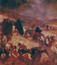 Paso de los Andes (1911) Tito Salas (Venezuela, 1887-1974)