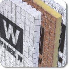 Panel W, Cement, Concrete, Steel Frame House, Landscape Walls, Tiny House Design, Prefab, Engineering, Art Deco