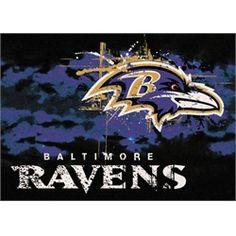 Baltimore Ravens Rug Team Fade Mat
