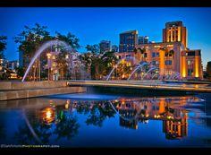 Sam Antonio Travel and Fine Art Photography   -  The  New Waterfront Park Embarcadero San Diego, CA