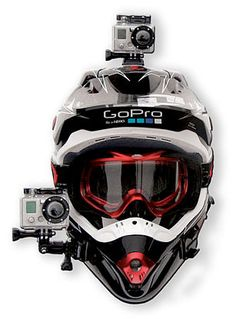GoPro camera for my MX helmet. This would be nuts!