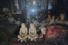 Every Miss Peregrine's Home for Peculiar ChildrenPhoto Is Terrifying Beyond Measure