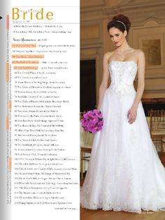 As Seen In: Manhattan Bride Spring/Summer 2012 Issue