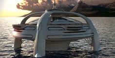 Utopia, yacht de luxe aux allures de ville flottante -Mon Coin Design