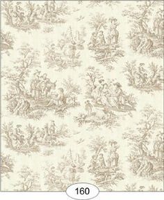 """Dollhouse Wallpaper """" Toile de Juoy in Beige"""" by dollhousesandmore. $4.49. Order 3 sheets to cover a standard dollhouse room. Matching Fabric is usually available just contact me. wallpapers are available in smaller scales contact me. Unpasted professional weight paper / Hides wire tape. Dollhouse Miniature Wallpaper """" Toile de Juoy in Beige"""" This wallpaper is printed on acid free ph-neutral paper designed for the 1:12 scale miniature setting. Price is per she..."""