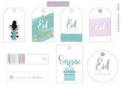 étiquettes cadeaux eid Eid Crafts, Ramadan Crafts, Ramadan Decorations, Easy Paper Crafts, Diy Eid Cards, Diy Eid Gifts, Carte Eid Mubarak, Eid Mubarak Gift, Eid Moubarak