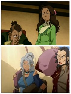 """like mother, like daughter. I glad I'm not the only one who thought, """"That's a Katara face!"""""""