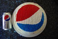 pepsi cake Ohh I wanna make Allen one :-)