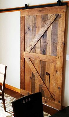 Unique and classic sliding barn doors constructed using 100% authentic reclaimed…