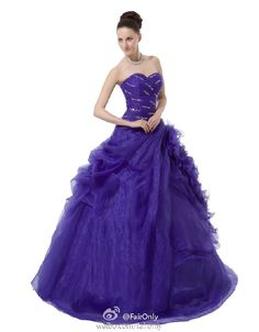 FairOnly New Women's Prom Ball Gown Formal Pageant Dresses Size 6 8 10 12 14 16