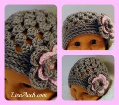 FREE crochet Pattern Baby hat