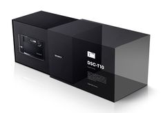 Sony camera packaging