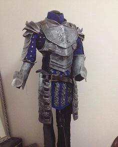 Grey Warden Warrior WIP by luiren