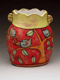 Scot Cameron-Bell Vase at MudFire Gallery