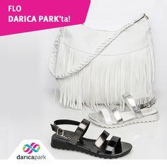 Siyah ve beyazın kusursuz uyumu! Flo, #DarıcaPark 1. Katta.