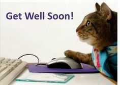 This is a real card (not an e-card) shared from Sendcere.  Get well soon…