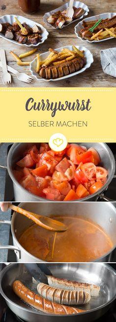 Baue dir eine perfekte Currywurst zu Hause nach. Welche Würste? Wie mache ich Curry Sauce und Currypulver? Alles und viel mehr erfährst du in diesem Guide.