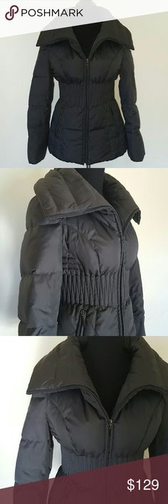 Ben Sherman Gun Metal Gray Puffer Winter Jacket Womens Gunmental gray Puffer winter jacket  Excellent condition  Interior lining 100% Polyester  60% Down leathers  Size Small  Two side pockets and front zipper closure Ben Sherman Jackets & Coats Puffers