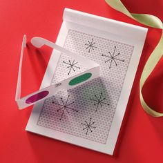 Your doodles will jump off the page with this fantastically fun 3-D Drawing Set!  Love this as a gift idea for the kids!