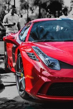 The Ferrari 458 is a supercar with a price tag of around quarter of a million dollars. Photos, specifications and videos of the Ferrari 458 Sexy Cars, Hot Cars, Monte Carlo, Automobile, Super Images, Ferrari Car, Lamborghini, Best Luxury Cars, Car In The World