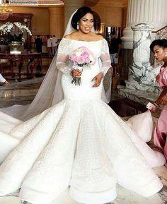 haute couture plus size lace wedding gowns from Darius Bridal Elegant Wedding Dress, Dream Wedding Dresses, Bridal Dresses, Bridesmaid Dresses, Dresses Dresses, Couture Dresses, Plus Size Wedding Gowns, Plus Size Gowns, Wedding Attire