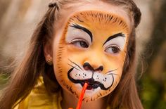 Face paint: lion step-by-step - Learning & play - MadeForMums Page 3