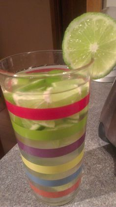 Super-hydrating tropical goodness - lime-infused coconut water