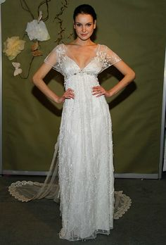 Wedding Dress Designer Claire Pettibone Has Been Slammed Since Mrs. Mark Zuckerberg Wore One of Her Dresses! Here Are 6 More Dresses by Claire! Which Would You Wear? : Save the Date