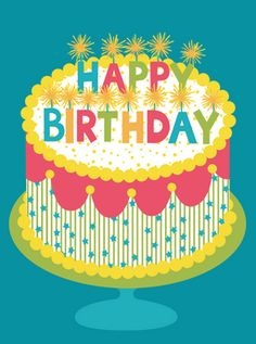 GreatArrow birthday card, designed by Katie Webb