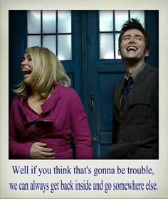 The Doctor and Rose are adorable. <3