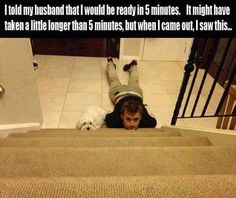 This husband who cannot wait an extra 5 minutes: 25 Husbands Who Must Be Stopped