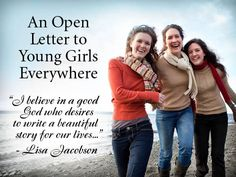An Open Letter to Young Girls Everywhere