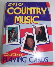 1995 Hoyle Stars of Country Music Collectible Playing Cards 6925